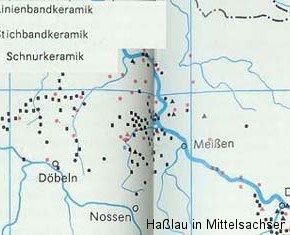 Siedlungsnachweise der Jungsteinzeit
