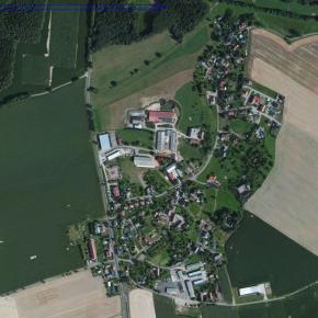Luftaufnahme 2012 von Haßlau